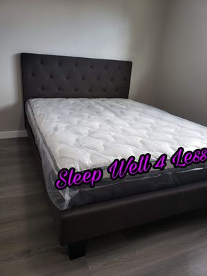 NEW💥QUEEN BED💥PILLOW TOP MATTRESS INCLUDED💥IN STOCK💥💥 for Sale in Bellflower, CA