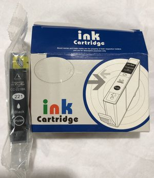 One Canon ink CC-221BK C-221 BLACK INK CARTRIDGE for Sale in Chicago, IL