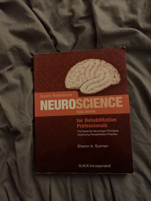 Neuroscience 3rd edition college textbook for Sale in Windsor, CT