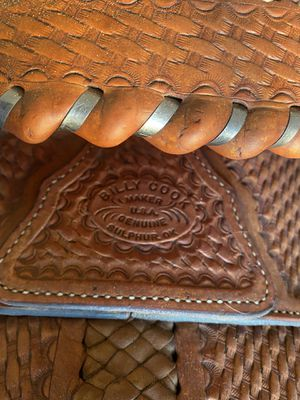 Billy Cook genuine saddle for Sale in Lucerne Valley, CA