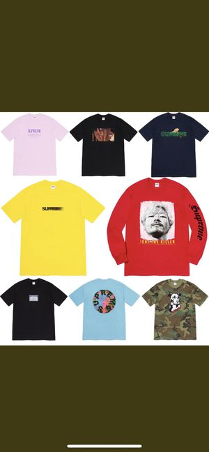 Supreme week 18 Mation logo tee for Sale in Hayward, CA