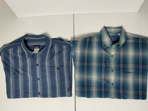 Pendleton and Patagonia short sleeve for Sale in Ontario, CA