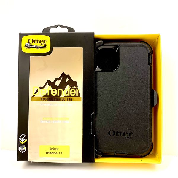 11 (Regular) / 11 pro / 11 Pro Max - iPhone OtterBox Case Cover - Defender Series.