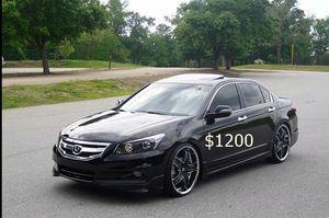 Price $1000 Great Shape.2WDWheels Honda Acord 2008 LX for Sale in Washington, DC