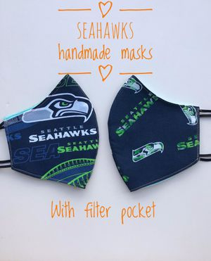 Seahawks mask $6, 5 for $25 for Sale in Tacoma, WA