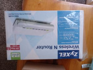 ZyXEL witless N Router for Sale in Boise, ID