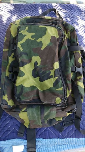 New 30L Outdoor Military Tactical Backpack Camping Hiking Trekking (Camouflage) for Sale in Anaheim, CA