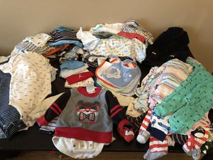 Full box of clothes 90 pcs size 3- 24 months for Sale in Deer Park, TX