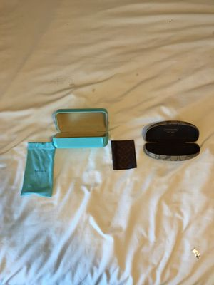 Tiffany and co. and coach case for Sale in Burleson, TX