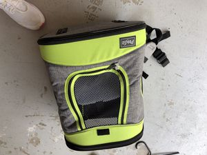 Pet backpack never used foster for Sale in San Diego, CA
