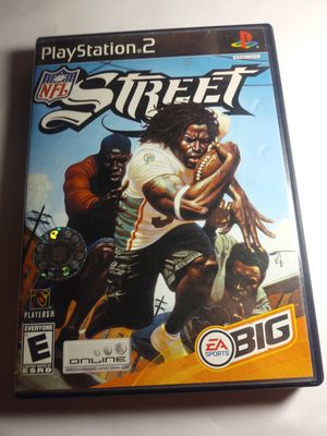 Sony PlayStation 2 NFL Streets PS2 Video Game for Sale in Riverside, CA