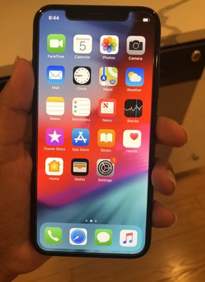 iPhone X Factory Unlocked 64GB - Black (Ten). for Sale in New York, NY