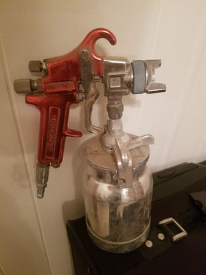 Paint sprayer and tank brand new snap on tools for Sale in Wenden, AZ