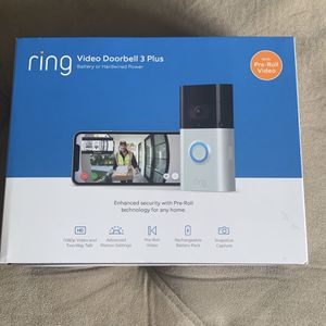 Ring 3 Plus Doorbell New for Sale in Miami, FL