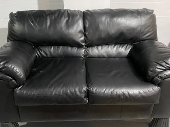 Ashley Faux Leather Couch for Sale in Cleveland,  OH