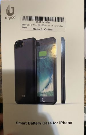 iPhone 7/8 portable charging case (black) pick up only for Sale in Brooklyn, NY