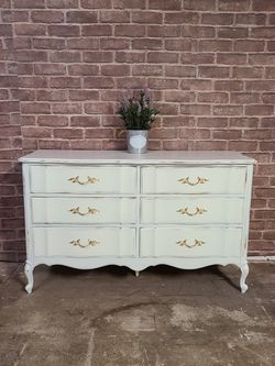 Solid Wood Shabby Chic Dresser for Sale in San Diego, CA