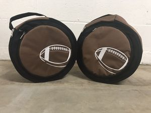 Two small Portable grills with cases for Sale in Gaithersburg, MD
