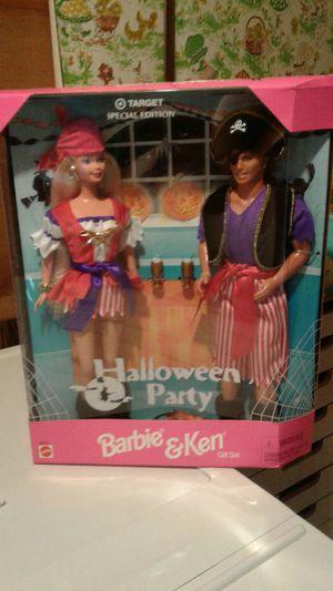 Halloween party Barbie and Ken gift set for Sale in Warren, MI