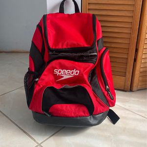 Brand New Speedo Backpack (Red) !I CAN DELIVER! for Sale in Hialeah, FL