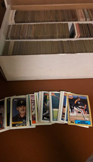Baseball cards 1980's and 1990's for Sale in Pottstown, PA