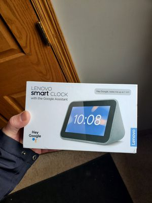 Lenovo Smart Clock with Google Assistant for Sale in Buffalo, MN