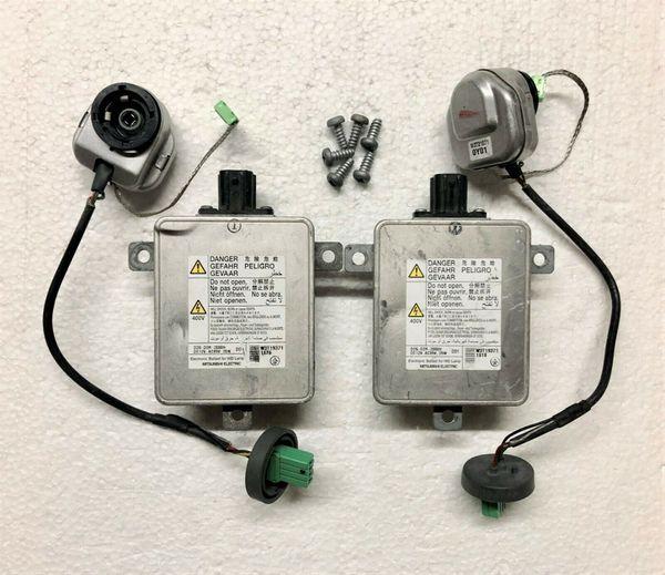 OEM Acura ILX MDX RDX ZDX Xenon Lamp Ballast Bulb Igniter Kit Inverter Control Unit