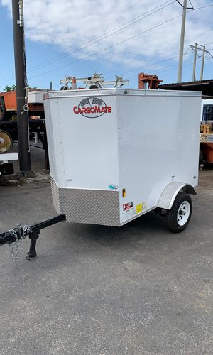 4x6 Enclosed Trailer In Stock Ready To Go! for Sale in Hialeah, FL