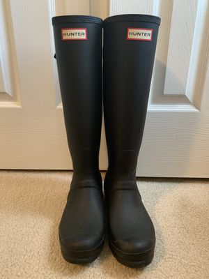 Hunter Rain boots for Sale in Fuquay Varina, NC