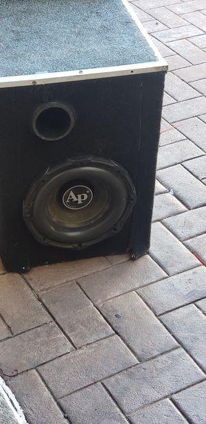 2 audiopipe bd 2 10s 1200watts a piece for Sale in Dania Beach, FL