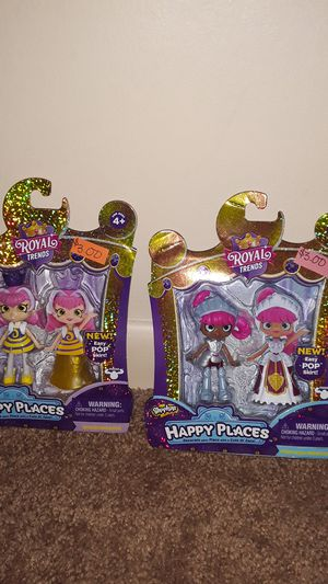 Shopkins happy places royal trends doll for Sale in Detroit, MI