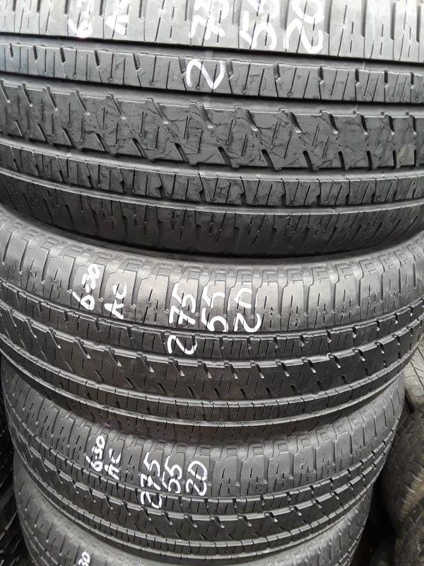 275/55-20 #4 tires