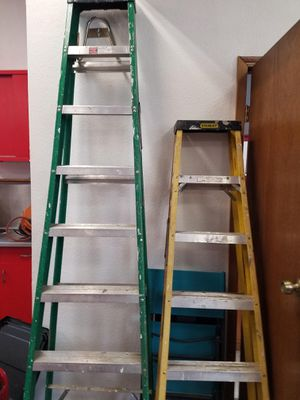 Ladders 8 ft and 10 ft for Sale in Gresham, OR