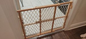 Wooden baby gate / dog gate for Sale in Naples, FL