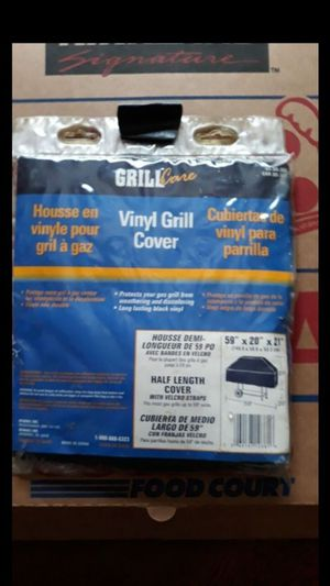 Vinyl BBQ Grill Cover for Sale in Modesto, CA