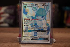 SHINY GLACEON GX HIDDEN FATES MINT for Sale in Lewisville, TX