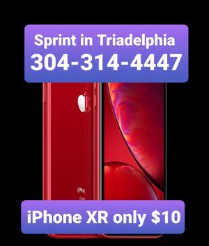 iPh1 XR $10 at Sprint in Triadelphia {contact info removed} for Sale in Triadelphia, WV
