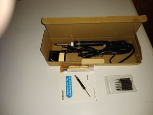 Soldering iron with different tips for Sale in Andover, MN