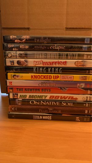 12 DVD lot. Twilight plus others. $25 takes the lot for Sale in Elk Grove Village, IL