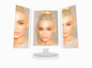 LED Vanity Makeup Mirror with 1x/2x/3x Magnification by Kylie Jenner for Sale in Loganville, GA