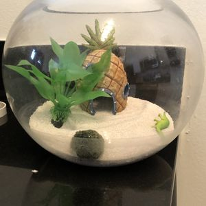 Fish Tank With Decorations And Heater for Sale in Aurora, CO