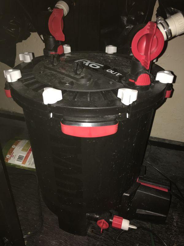 Fluval fx6 canister filter aquarium fish tank