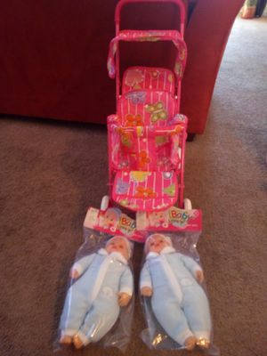 Double dolls double strollers located in Palmdale California $40 each for Sale in Palmdale, CA