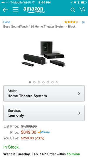 Bose SoundTouch 120 for Sale in Union City, CA