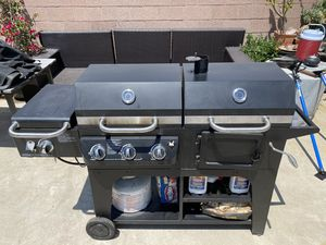 Bbq grill smoker and propane for Sale in Long Beach, CA