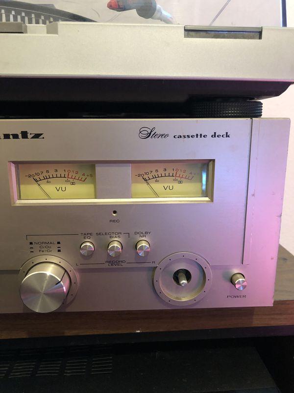 Marantz 1810 Stereo Cassette Deck