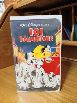 Disney's Black Diamond 101 Dalmatians VHS VCR Movie for Sale in Modesto, CA