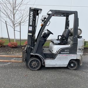 Pending Nissan 50 Forklift 9620 Hrs Triple Mast Side shift for Sale in Tacoma, WA