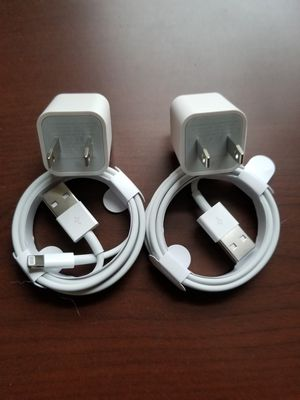 2 brand new original apple chargers for Sale in Queens, NY