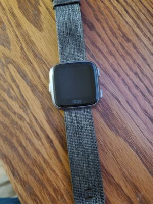 Fitbit Versa Special Edition Charcoal for Sale in Mill Creek, WA